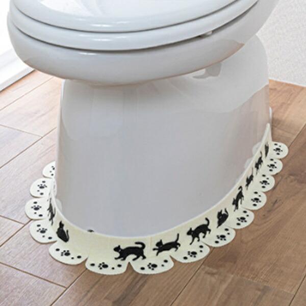 便器すきまテープ ネコ 定価 便器 シート トイレ 床 隙間 すきま 床シート 汚れ防止 消臭 おくだけ吸着 壁 すき間テープ 防止 汚れ すき間 大注目