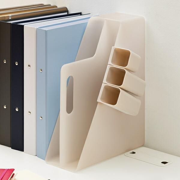 ファイルボックス 卓上 A4 持ち運び 収納 小物 人気ショップが最安値挑戦 ソートボックス ファイルスタンド ペン立て ペンスタンド 持ち手付き 期間限定送料無料 収納ケース