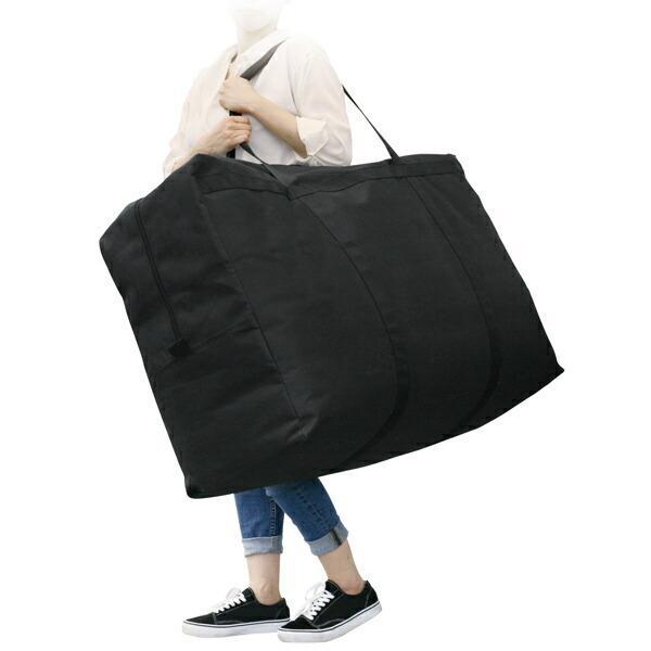 収納袋 人気ブランド多数対象 大容量 幅95×奥行34×高さ60cm 掛け布団 敷布団 毛布 193L ガサッと収納袋 布団収納袋 布団袋 バッグ 送料無料激安祭 大きい 大型バッグ