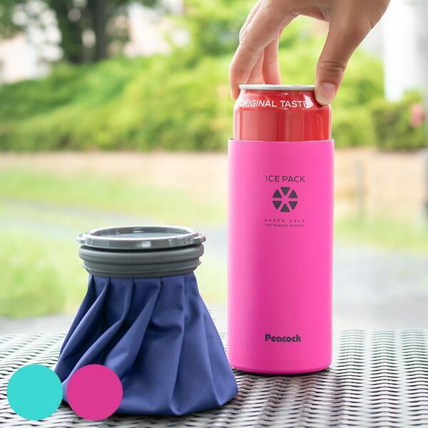 受注生産品 氷のう 缶ホルダー 500ml 2way 保冷 アイスパック 正規品送料無料 アイシングバッグ 氷袋 氷嚢 スポーツ アイスバッグ アイシング