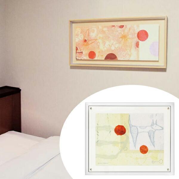 インテリアアート 岡田まりゑ MARIE 08 ( アートパネル アートパネル 壁掛け 壁飾り アート アートデコ ウォールアート 絵画 インテリア )
