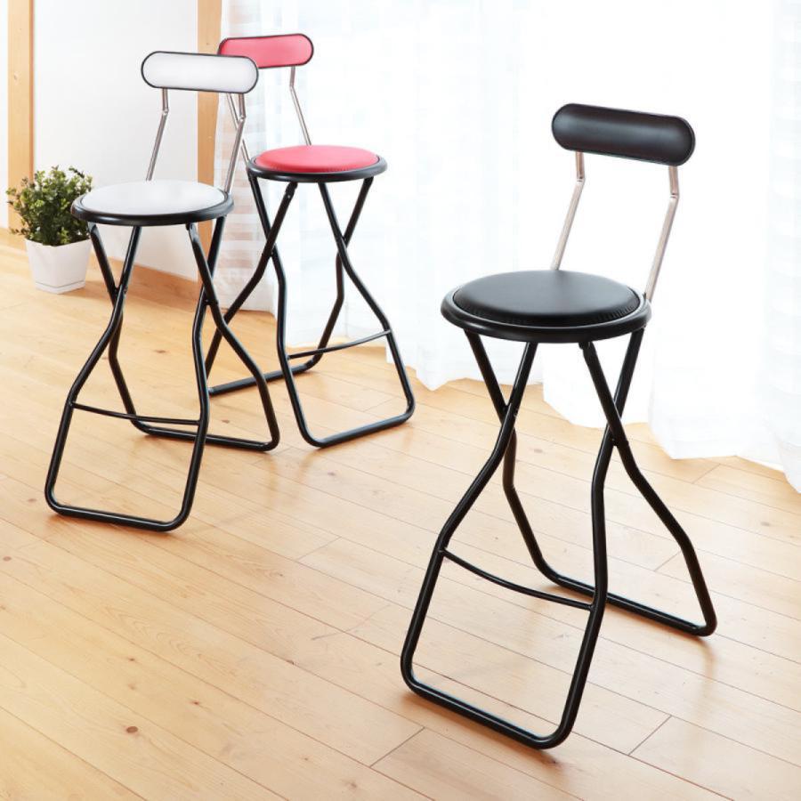 折りたたみ椅子 キャプテンチェア 激安通販 ハイタイプ ブラック 送料無料カード決済可能 椅子 折りたたみチェア チェア