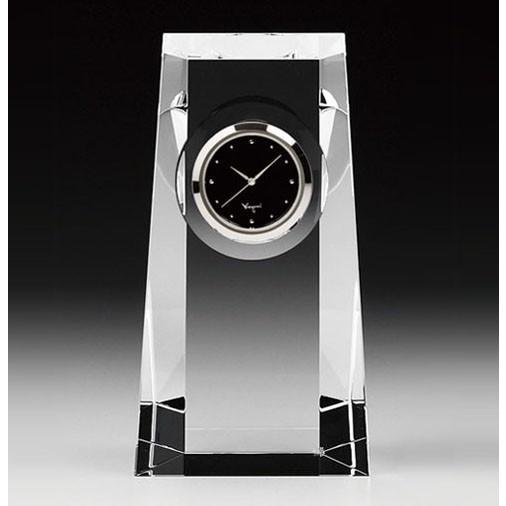 カガミクリスタル KAGAMI 大決算セール CRYSTAL Q427 時計 置時計 並行輸入品