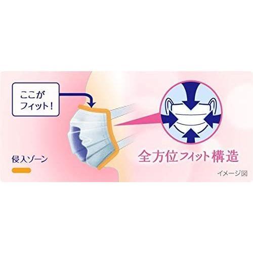 ユニチャーム 超快適マスク 小さめサイズ プリーツタイプ  7枚入り livral 04