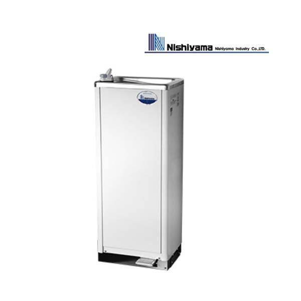 西山工業 水道直結式 床置 ウォータークーラー お求めやすく価格改定 自動洗浄機能付 WMS-D51P2 業務用 送料無料 新品 即出荷