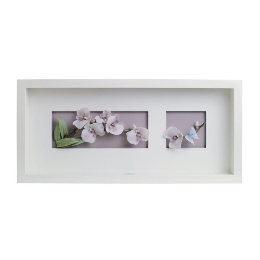 Lladro(リヤドロ) 花 花 壁飾り ウォール アート 蘭に舞う 8447 送料無料
