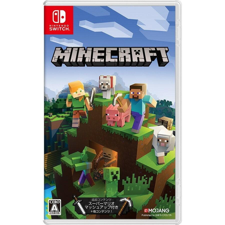 新品 マインクラフト Minecraft Nintendo ※2個までポスト投函便選択可 注目ブランド マイクロソフト Switch 国際ブランド マイクラ