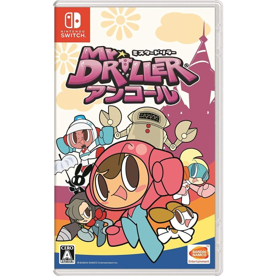 【新品】ミスタードリラーアンコール   Nintendo Switch  【バンダイナムコ】※2個までポスト投函便選択可|llhat