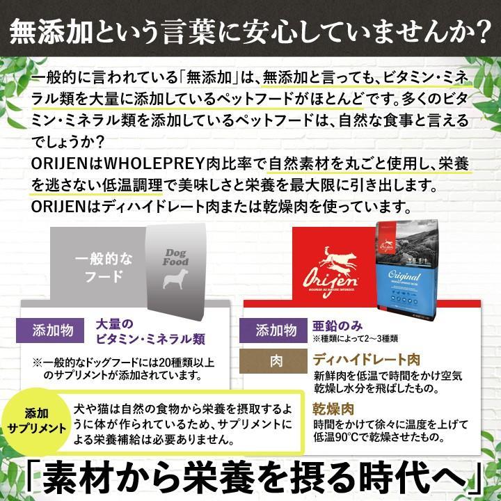 オリジン オリジナル 2kg 【正規品】 ORIJEN ドッグフード 子犬 成犬 シニア犬 高齢犬 lloyds-inc 11