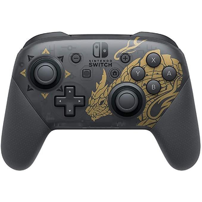 即日発送 Nintendo Switch Proコントローラー モンスターハンター ライズエディション|lns|02