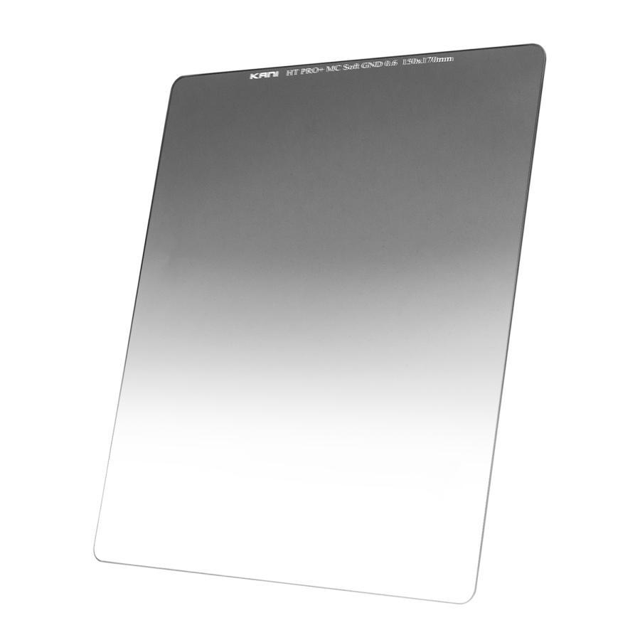 KANI 角型フィルター ハーフND4 ソフトGND 0.6 150x170mm (減光効果:最大2絞り分) / レンズフィルター 角形|locadesign