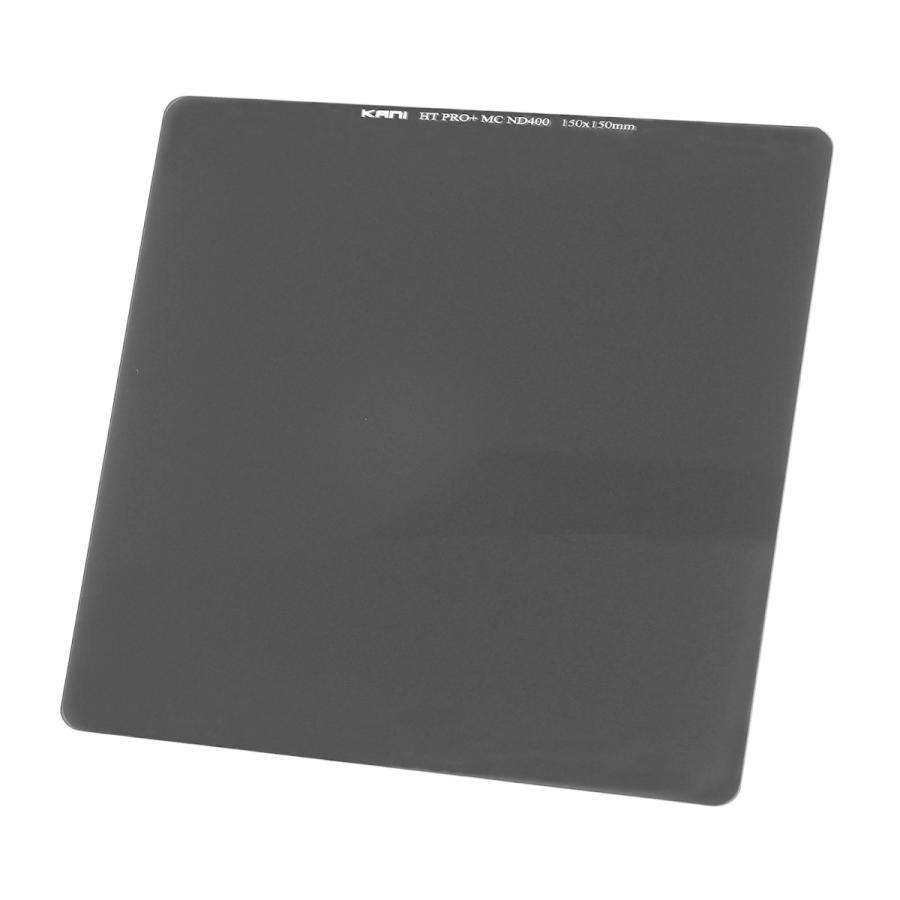 KANIフィルター ND400 150x150mm (減光効果 82/3絞り分)|locadesign