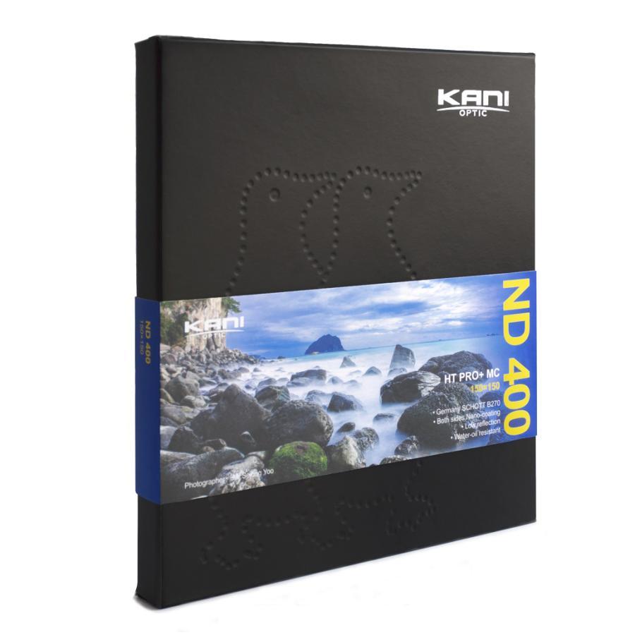 KANIフィルター ND400 150x150mm (減光効果 82/3絞り分)|locadesign|02