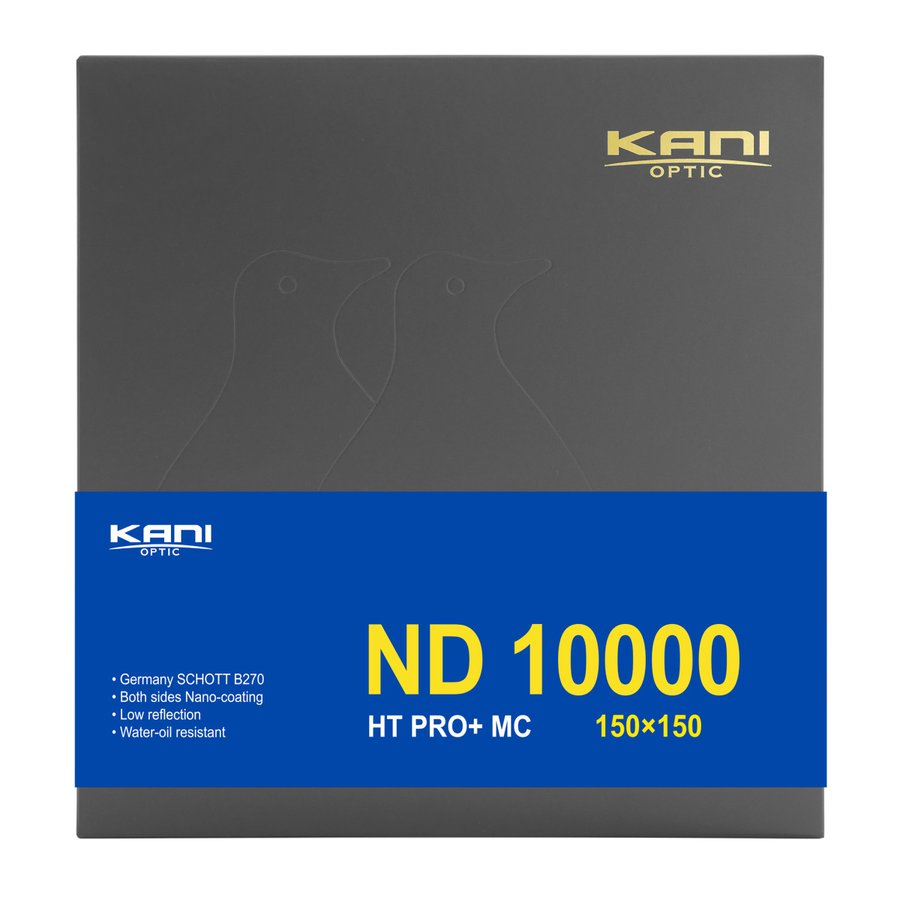 KANI 角型フィルター ND10000 150x150mm 減光フィルター(減光効果 131/3絞り分) / レンズフィルター 角形 NDフィルター|locadesign|02