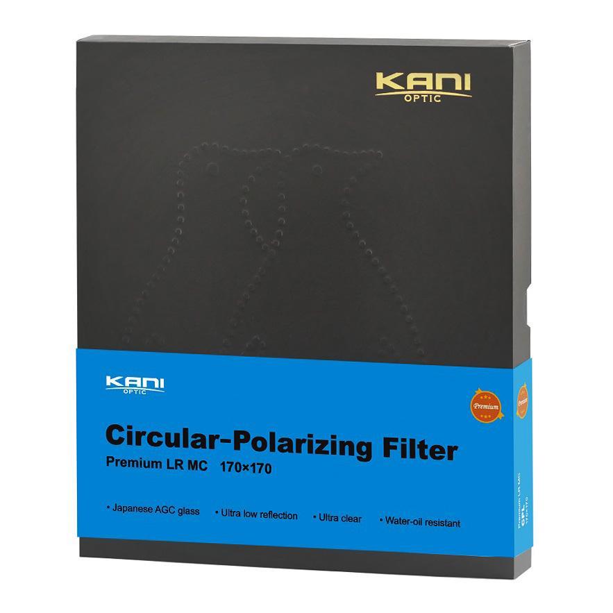 KANI 角型フィルター プレミアムサーキュラーPL 170x170mm CPL 円偏光 / レンズフィルター 角形 PLフィルター|locadesign|02
