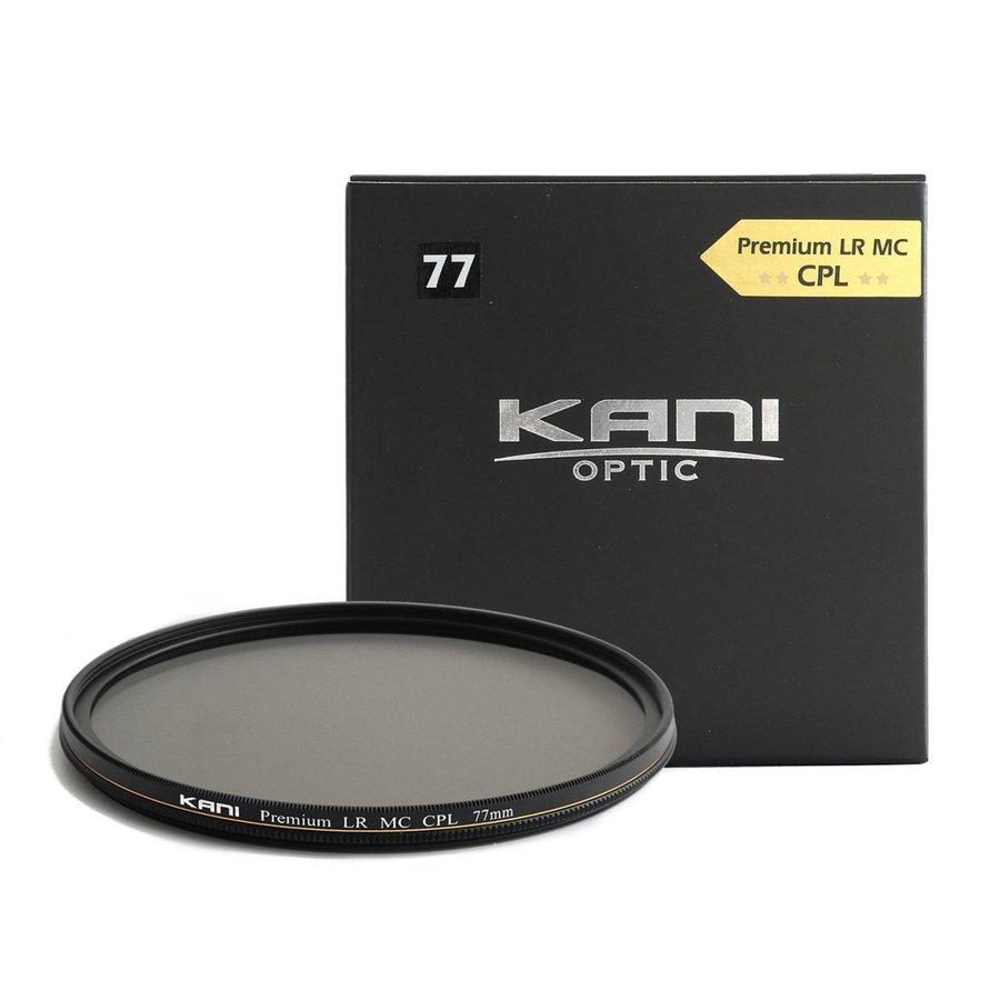 KANI PLフィルター プレミアムサーキュラーPL 77mm セール 通常枠 レンズフィルター 国産品 CPL 丸枠 円偏光