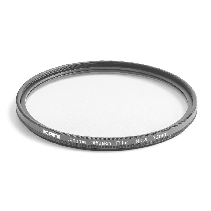 KANI シネマディフュージョンフィルター No.3 72mm / CDF ソフトフィルター ポートレート 夜景 イルミネーション 丸枠|locadesign|02