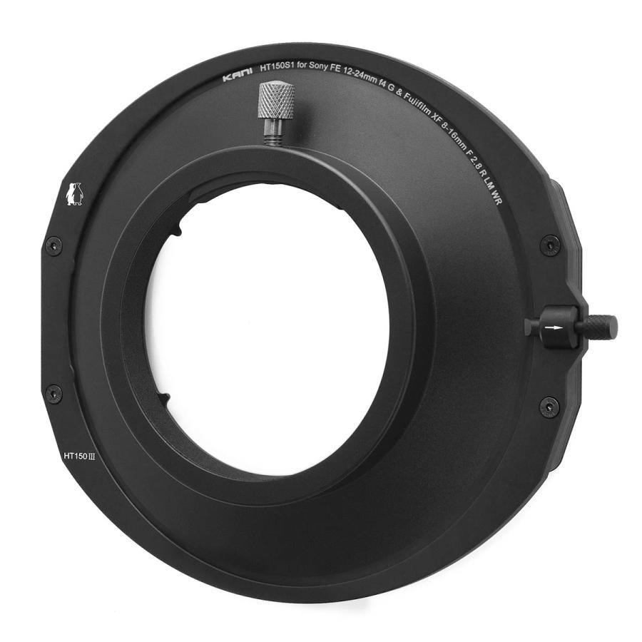 KANI 角型フィルターホルダー SONY FE 12-24mm F4 G & FUJIFILM XF8-16mmF2.8 R LM WR 対応ホルダー 150mm幅用 /ソニー フジフイルム 角形 レンズフィルター|locadesign