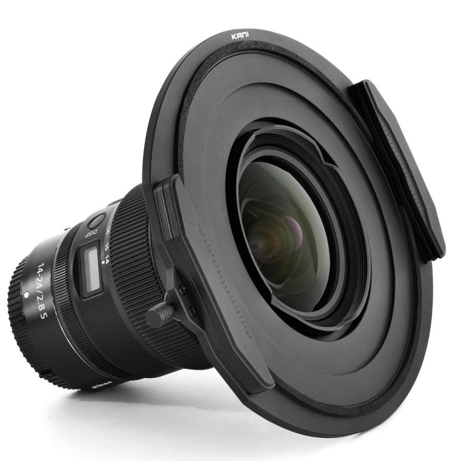 KANI 角型フィルターホルダー Nikkor Z 14-24mm f/2.8 S 専用ホルダー 150mm幅用 /Nikon ニコン 角形 レンズフィルター|locadesign|02