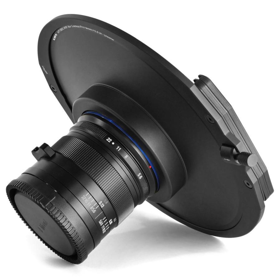 KANI 角型フィルターホルダー Laowa FFII 9mm F5.6 W-Dreamer 専用ホルダー 150mm幅用 /ラオワ 角形 レンズフィルター|locadesign|04