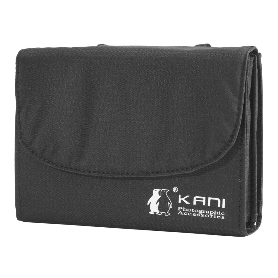 KANIフィルター 年間定番 サービス ソフトケース 100mm幅用 100x100mm 角型 フィルターケース 100x150mmサイズ対応