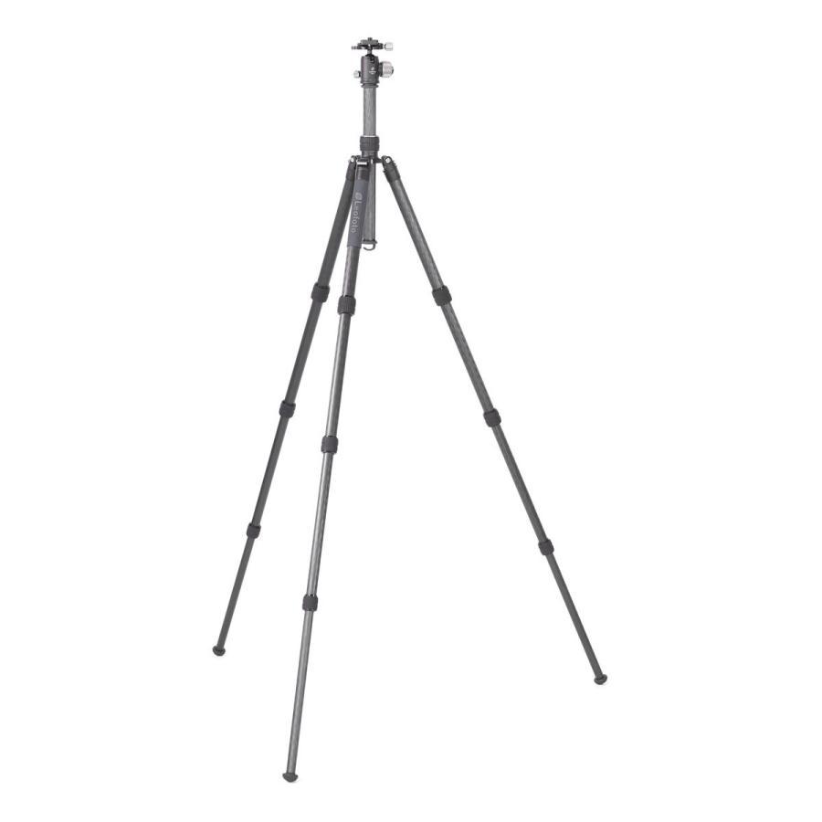 Leofoto (レオフォト) LX-284CT+XB-38 トラベル三脚・自由雲台セット/パイプ径28mm 4段 ミラーレス・一眼レフ用三脚|locadesign|02
