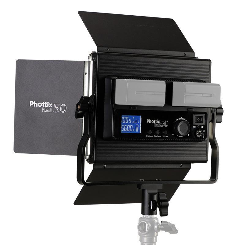Phottix ( フォティックス )  Kali(カリ) 50 LED Light / 動画 写真 撮影 に適した 高演色 LED ライト|locadesign|02