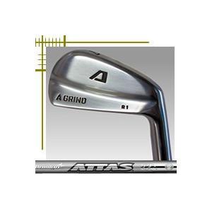 Aデザインゴルフ Aグラインド R1 ブレード アイアン 単品 4番 NEW アッタスカーボンシリーズ カスタムモデル