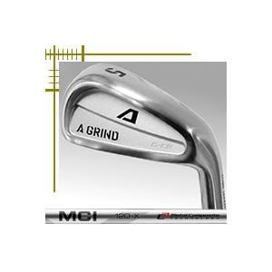 Aデザインゴルフ Aグラインド G-CB アイアン 6本(5番〜P)セット フジクラ MCIカーボンシリーズ カスタムモデル