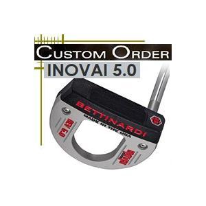 ベティナルディ パター INOVAI 5.0 日本仕様 18年モデル 長さ・ライ角・グリップ変更カスタムモデル