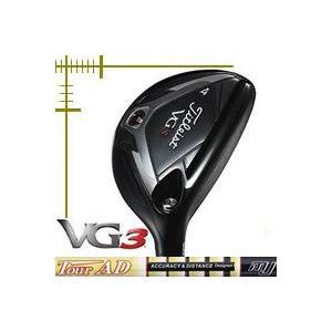 タイトリスト VG3 ユーティリティ ツアーAD MJシリーズ カスタムモデル 日本仕様 18年モデル
