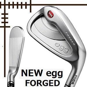 プロギア NEW egg フォージド アイアン 単品 A AS S オリジナルソフトスチールシャフト 19年モデル