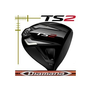 【返品?交換対象商品】 タイトリスト TS2 ドライバー ディアマナ RFシリーズ カスタムモデル 日本仕様 19年モデル, FIVE MALL:ad2bc8b5 --- airmodconsu.dominiotemporario.com