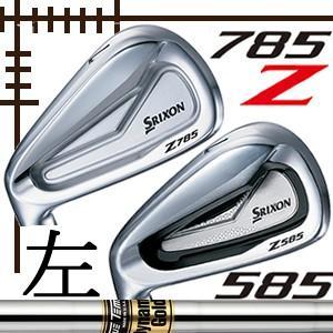 レフティ ダンロップ スリクソン Z585/Z785 コンボアイアン 6本(5番〜P)セット ダイナミックゴールドシリーズ カスタムモデル