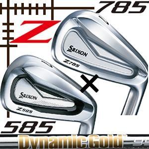 ダンロップ スリクソン Z585/Z785 コンボアイアン 6本(5番〜P)セット NEW ダイナミックゴールド シリーズ カスタムモデル