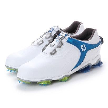フットジョイ FootJoy メンズ ゴルフ ダイヤル式スパイクシューズ 18 TOURS ボア WT/BL 9248854754 54