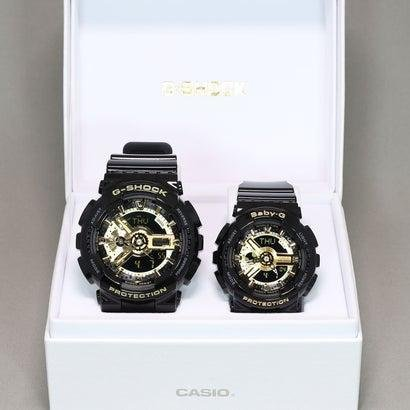 【G-SHOCK&BABY-G】Black×Gold Series(ブラック×ゴールドシリーズ) / GA-110GB-1AJF × BA-110-1