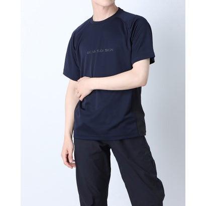 ティゴラ TIGORA メンズ 完売 陸上 ランニング 半袖Tシャツ TR-9P1221TS 超特価SALE開催 ネイビー