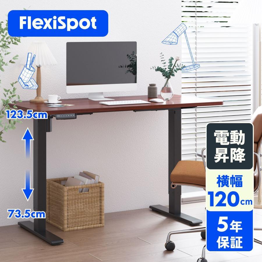 昇降デスク 電動式 スタンディングデスク PCデスク パソコンデスク 作業台 勉強机 高さ調節 デスク FlexiSpot 選択 正規品 学習机 デスクセット 幅120 ゲーミングデスク