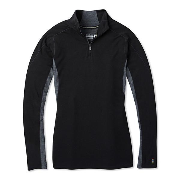 お取寄せ スマートウール Ws メリノスポーツ250ロングスリーブ1/4ジップ ブラック XS 11月29日現在 メーカー在庫数 SW6385