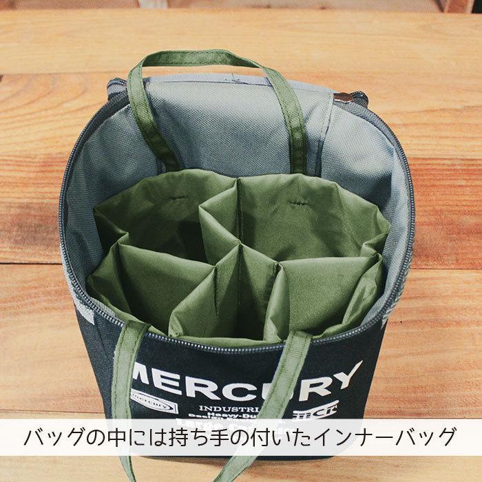 スパイスボックス キャンプ スパイスバッグ マーキュリー パーテーションバッグ 調味料入れ スパイス入れ ランチバッグ アウトドア バニティーポーチ MERCURY|lodi|03