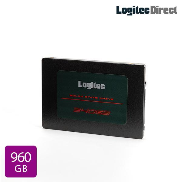 メール便送料無料 ロジテック 内蔵SSD 2.5インチ SATA対応 LMD-SAB960 ファッション通販 大人気 データ移行ソフト付 960GB 8ss