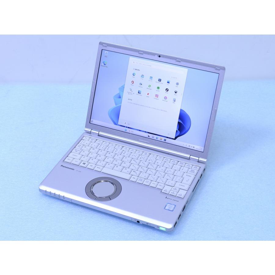 中古 ノートパソコン ラッピング無料 CF-SZ6RDYVS きれい i5 7300U 8GB SSD 256GB Panasonic カメラ テレワーク Win10 パナソニック PC 人気の製品 WiFi 管理D10