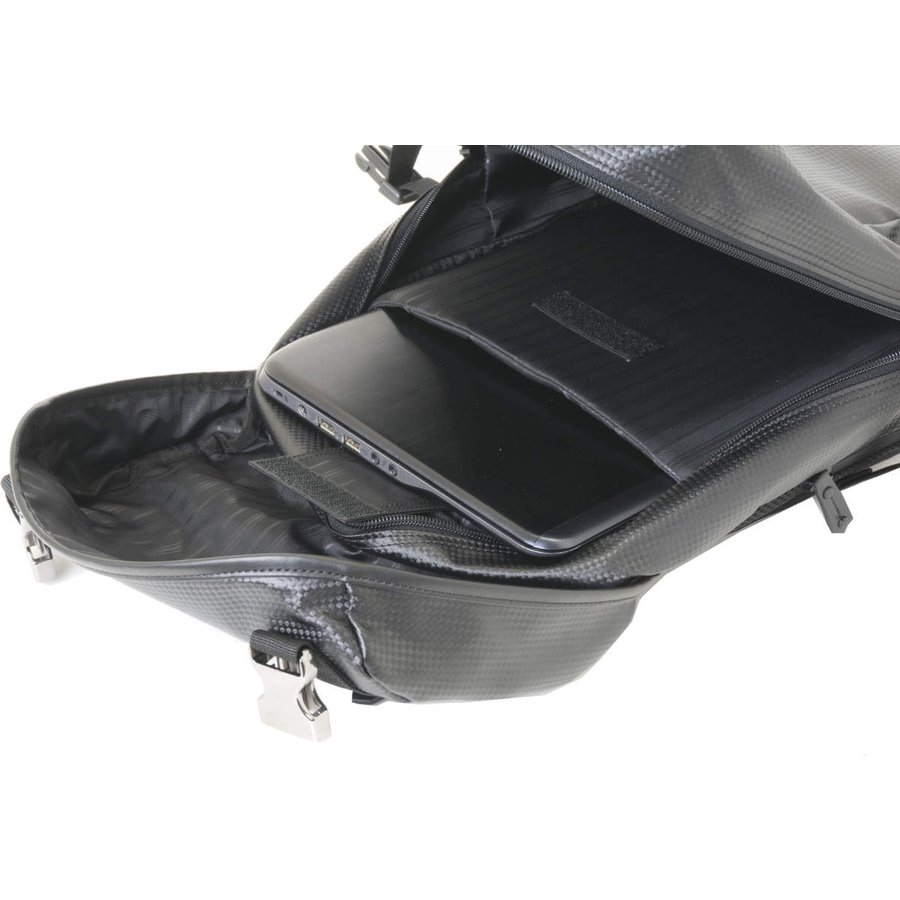 スモールオフィスポケット デイパック カーボン素材 BG-11081 ON OFF兼用スタイル リュック 男女兼用 通勤 通学|lojel-japan|09