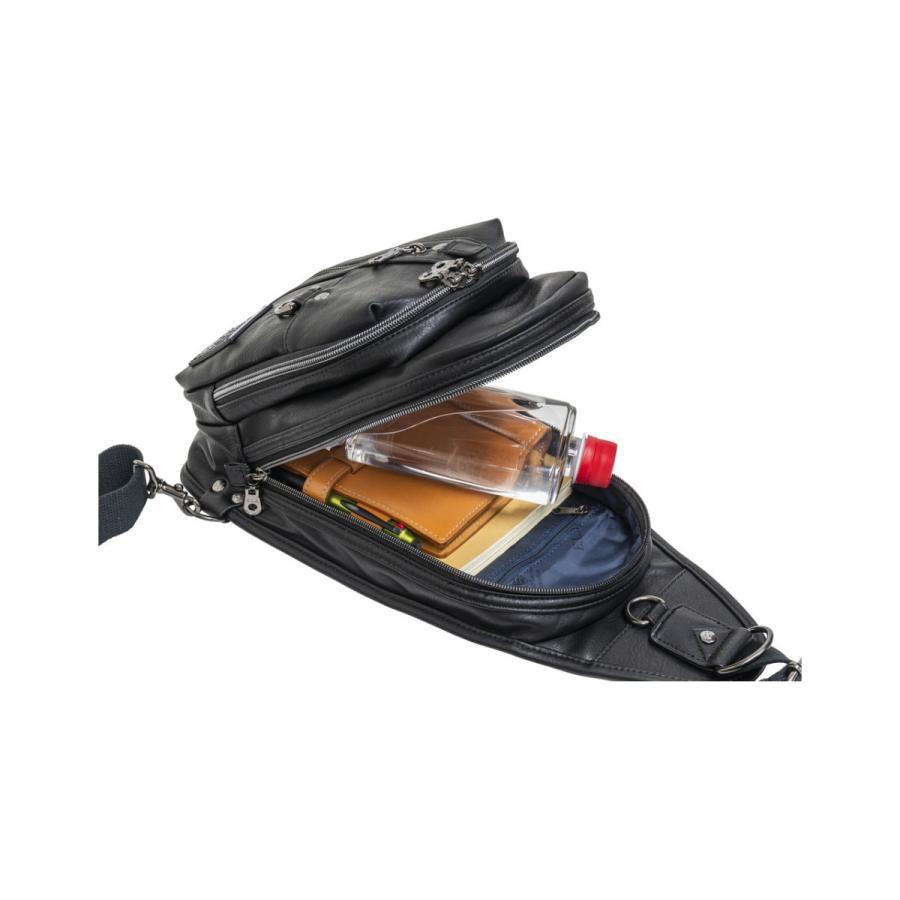 ボディバッグ メンズ レディース ワンショルダー スリングバッグ 人気 おしゃれ  ELA-12177 ELA|lojel-japan|16