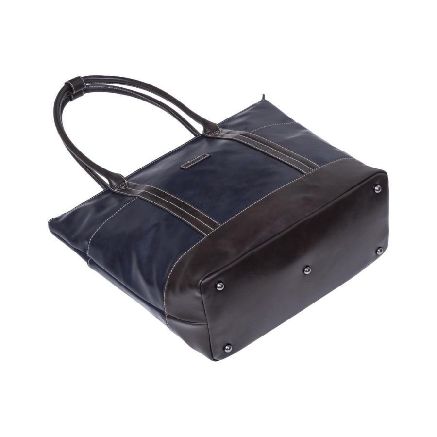 トートバッグ メンズ  トート 合皮 レザー 鞄 おしゃれ 撥水 人気 通勤 通学 ELA-13072 lojel-japan 04