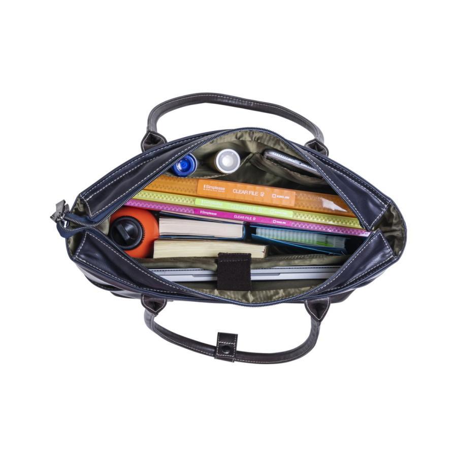 トートバッグ メンズ  トート 合皮 レザー 鞄 おしゃれ 撥水 人気 通勤 通学 ELA-13072 lojel-japan 06