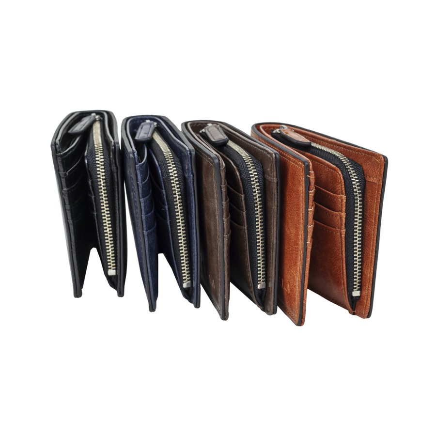 財布 二つ折り メンズ Lファスナー札入れ プレゼント 父の日 ギフト lojel-japan 02