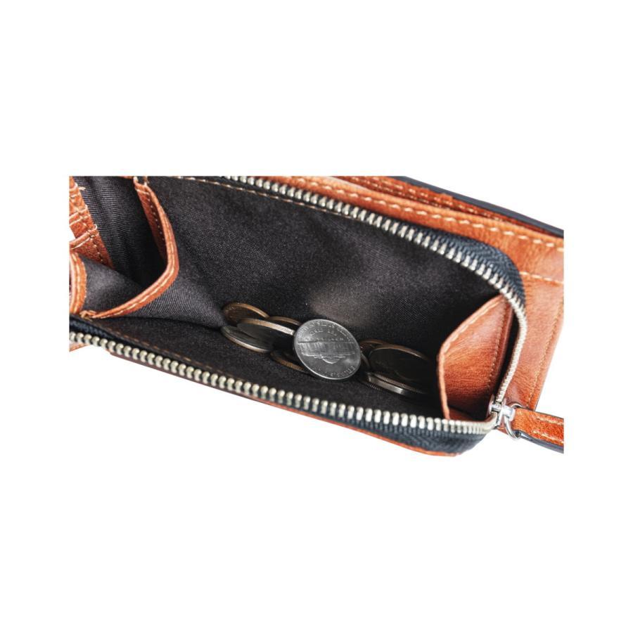 財布 二つ折り メンズ Lファスナー札入れ プレゼント 父の日 ギフト lojel-japan 08