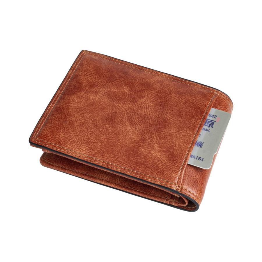 財布 二つ折り メンズ Lファスナー札入れ プレゼント 父の日 ギフト lojel-japan 12